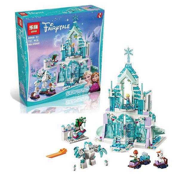 lepin lodowy zamek elzy 25002