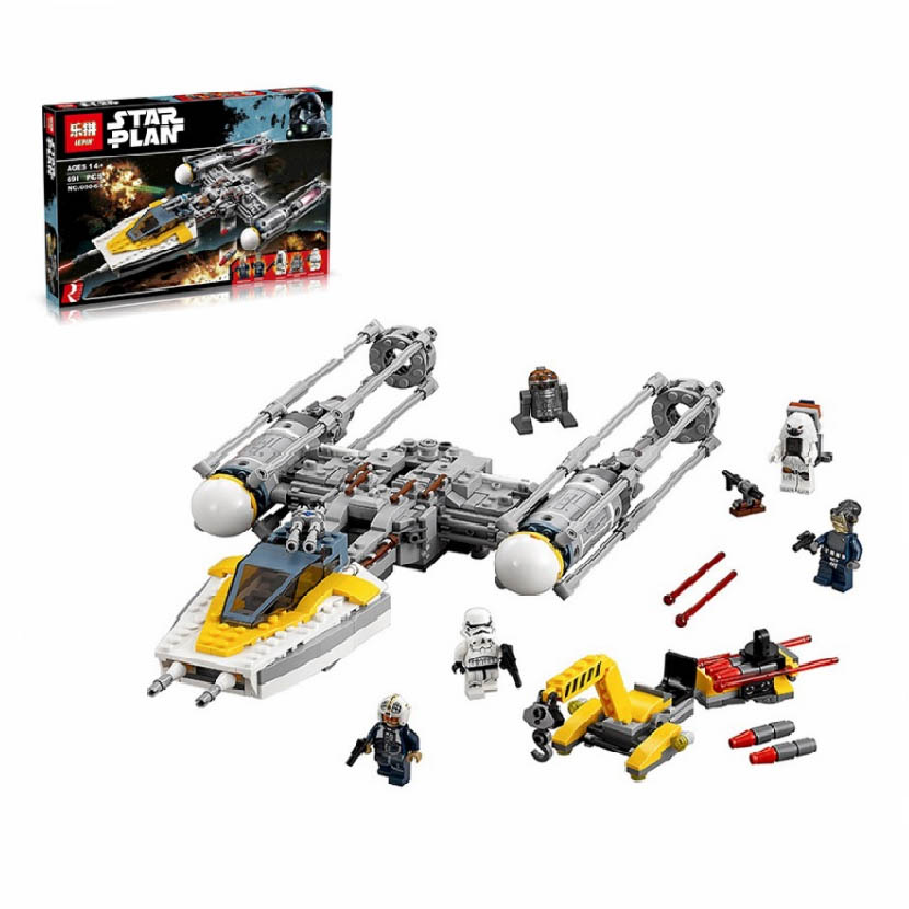 lepin y-wing starfighter